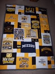 T Shirt Quilt Pattern With Different Size Blocks Extraordinary Yellow T Shirt Quilt Pattern Baby Quilt Super Comfortable T