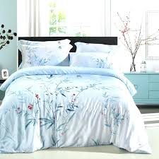 light blue and brown duvet covers luxury bamboo fiber tencel bedding set car covers bed jogo de