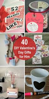 40 diy valentine s day gifts for him