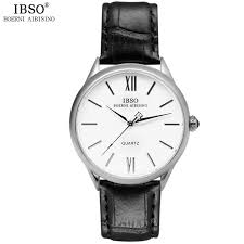 online get cheap classic mens watches top 10 aliexpress com ibso top brand luxury classic watch men 2017 leather strap mens watches 2017 fashion clock men