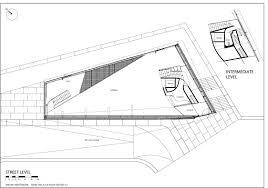 Street level plan drawing © courtesy of rené van zuuk architekten