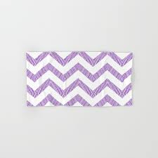 decorative bath towels purple. Decorative Chevron Purple Texture Pattern Hand \u0026 Bath Towel Towels