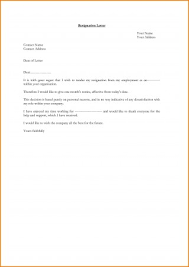 Letters Of Resignation Cool Letter Format Simple Resignation Informal Malaysia Best Sample Copy