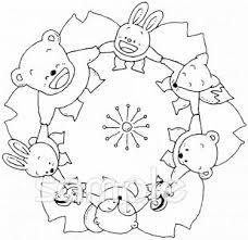 手をつなぐイラストなら給食小学校幼稚園向け保育園向けの