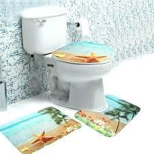beach bathroom rugs set sea mat non slip soft flannel pedestal rug lid bath house themed bathroom contour rug beach