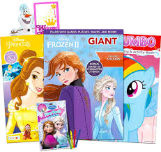 Find another page on barbie coloring pages , bratz coloring pages , and etc. Amazon Com Disney Mlp Coloring Book Super Set For Girls 3 Giant Coloring Books Featuring Disney Princess Frozen And My Little Pony Includes Disney Princess Stickers Toys Games