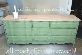how to whitewash oak furniture. dresser ready for whitewash how to oak furniture 0