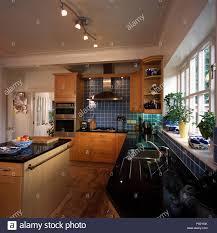 Modern Kitchen Track Lighting Island Unit And Ceiling Track Lighting In Modern Kitchen