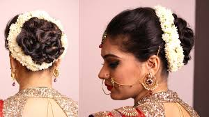Different Bun Hairstyles Simple Hair Buns For Saree