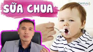Bé mấy tháng tuổi ăn được sữa chua? Lượng ăn sữa chua chuẩn xác theo từng  độ tuổi - YouTube