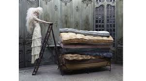 princess and the pea bed. Only A Real Princess Would Have The Sensitivity To Feel Pea Through Such Quantity Of Bedding. Two Were Married, And Was Placed In Royal Bed S