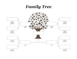 Blank Family Tree Template Free Premium Template Family Tree Diagram Maker Also Family Tree Templates Doc Excel Free