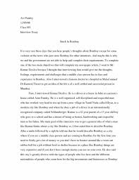 Example Interview Essay High School Entrance Essays Essay Writing High School Also