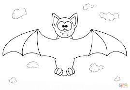 Small Picture Cartoon Vampire Bat coloring page Free Printable Coloring Pages