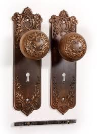 antique bronze door knobs. Antique Bronze P \u0026 F Corbin \u201cLorraine\u201d Door Knob Set With Knobs S