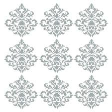damask wall art decals damask wall decal together with damask wall decor damask vintage wall decals  on damask sticker wall art with damask wall art decals crafts wall art wall decals vinyl silver foil