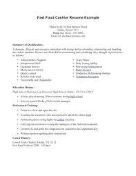 Sample Of Resume For Cashier Download Cashier Resume Sample Sample