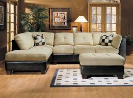 Affordable VIntage Style L Shaped Sectional Sofa With Chaise In VIntage Living  Room Decoration. Furniture