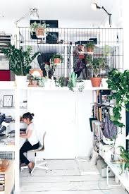 cramped office space. Open Plan Office Studio Loft Space With Metal Grid Walls And Indoor Plants Everywhere Pictures Of Cramped R