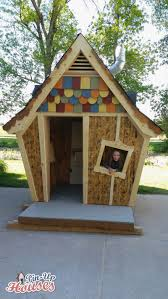 crooked playhouse plans free luxury crooked kids playhouse for a fundraiser