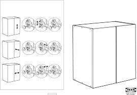 Ikea Instruction Manuals Ikea Storage Furniture Ivar Cabinet 32x20x33 Pdf Assembly