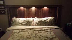 headboard lighting. headboard lighting reclaimed wood with lights and recepticles on etsy 135000 for the home e