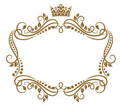 crown picture frame retro frame with royal crown stock vector ilration of crown heraldic royal