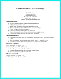 resume broadcast services broadcast producer cover letter ltc pharmacist cover letter film connu resume cv example and cover letter