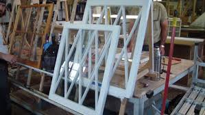 old wooden windows can be rebuilt and preserved to give many more years of useful service