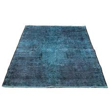 4 7 x 5 6 overdyed vintage persian area rug antique