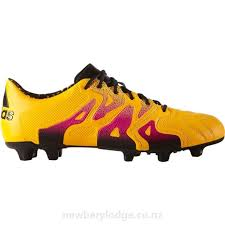 adidas x 15 1 fg ag leather soccer cleats men in gold black ife0ld
