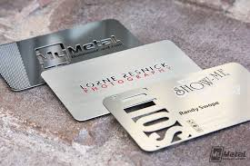 Stainless Steel Business Cards Stainless Steel Cards Choose Your Finish World Leader In