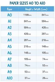 European Paper Size Chart What Size Is A4 Paper Guide To Paper Sizes Doxdirect