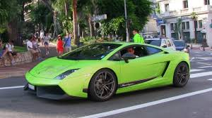 lamborghini gallardo in green