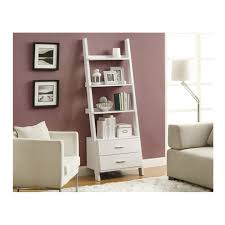 home office bookshelf. monarch bookcase with 2 drawers in white home office bookshelf e