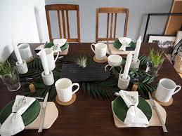 Tischdekoration Urban Jungle Skön Och Kreativ