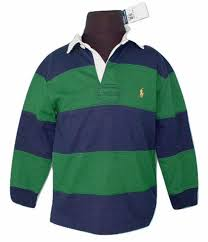 new zealand polo ralph lauren boys rugby shirt green and navy stripe or bright green green