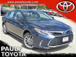 New 2018 Toyota Avalon Hybrid Limited 4D Sedan in Crystal Lake ...