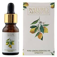 Buy Nature's Absolutes <b>Pure Lemon Essential Oil</b>, 15ml Online at ...