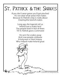 St. Patrick's Day Kids Poems - Woo! Jr. Kids Activities