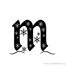 Printable Christmas Stencil Letters Download Them Or Print
