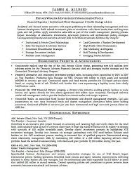 Investment Manager Resume Example Vintage It Asset Management Resume