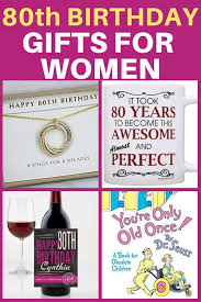 80th birthday gifts for women looking for a unique gift for a woman who s turning