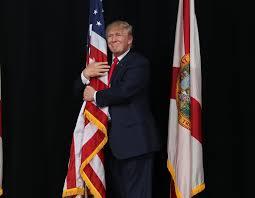 Image result for whitehouse trump flag