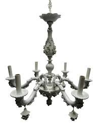 lighting elegant capodimonte porcelain chandelier 1 rare white 6 arm 6031 capodimonte porcelain chandelier