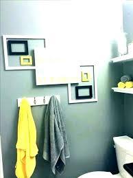 yellow bathroom rug damask