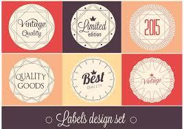 Label Design Free Free Vector Label Design Set Download Free Vector Art Stock