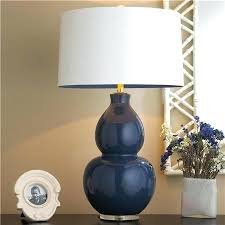 full size of navy table lamp shade base shades ceramic modern blue lamps lighting inspiring delectable