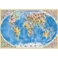 """Отзыв о <b>Карта</b> """"Страны и народы мира"""" - издательство <b>Геодом</b> ..."""