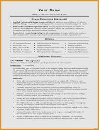 Formal Resume Format New Federal Resume Template Resume Templates